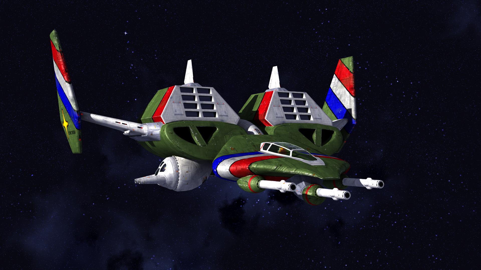 Brilliant broadsword brightens blackness wing commander cic for Wing commander