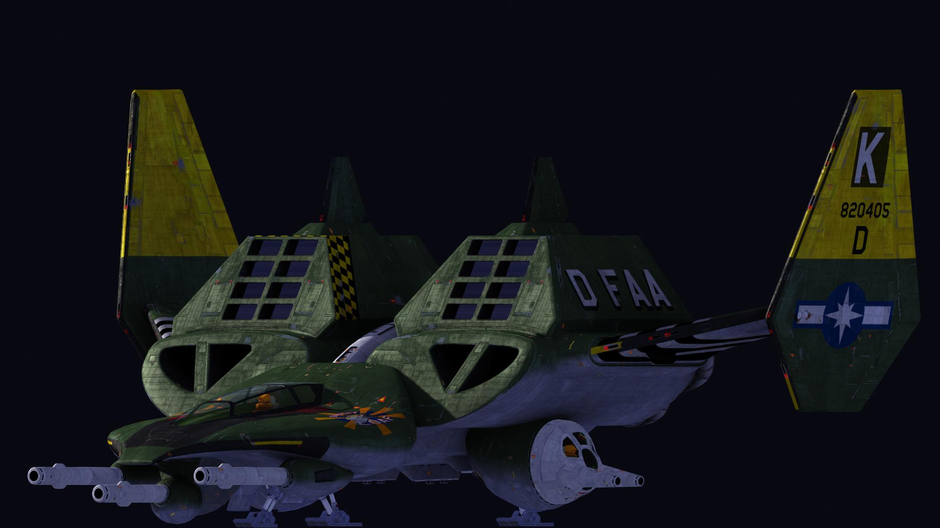 Broadsword brings big boom wing commander cic for Wing commander