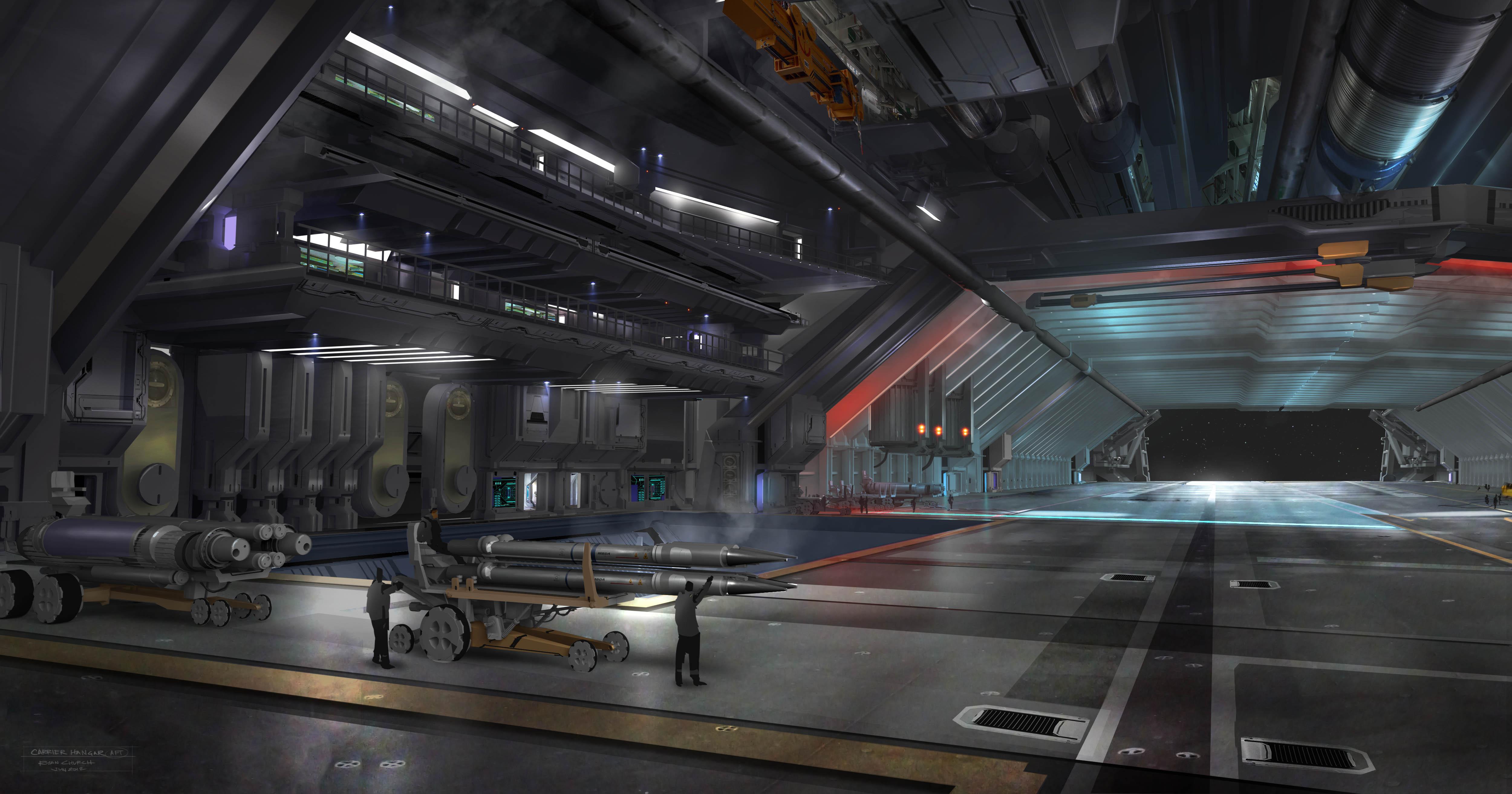 star citizen how to call ship in hangar