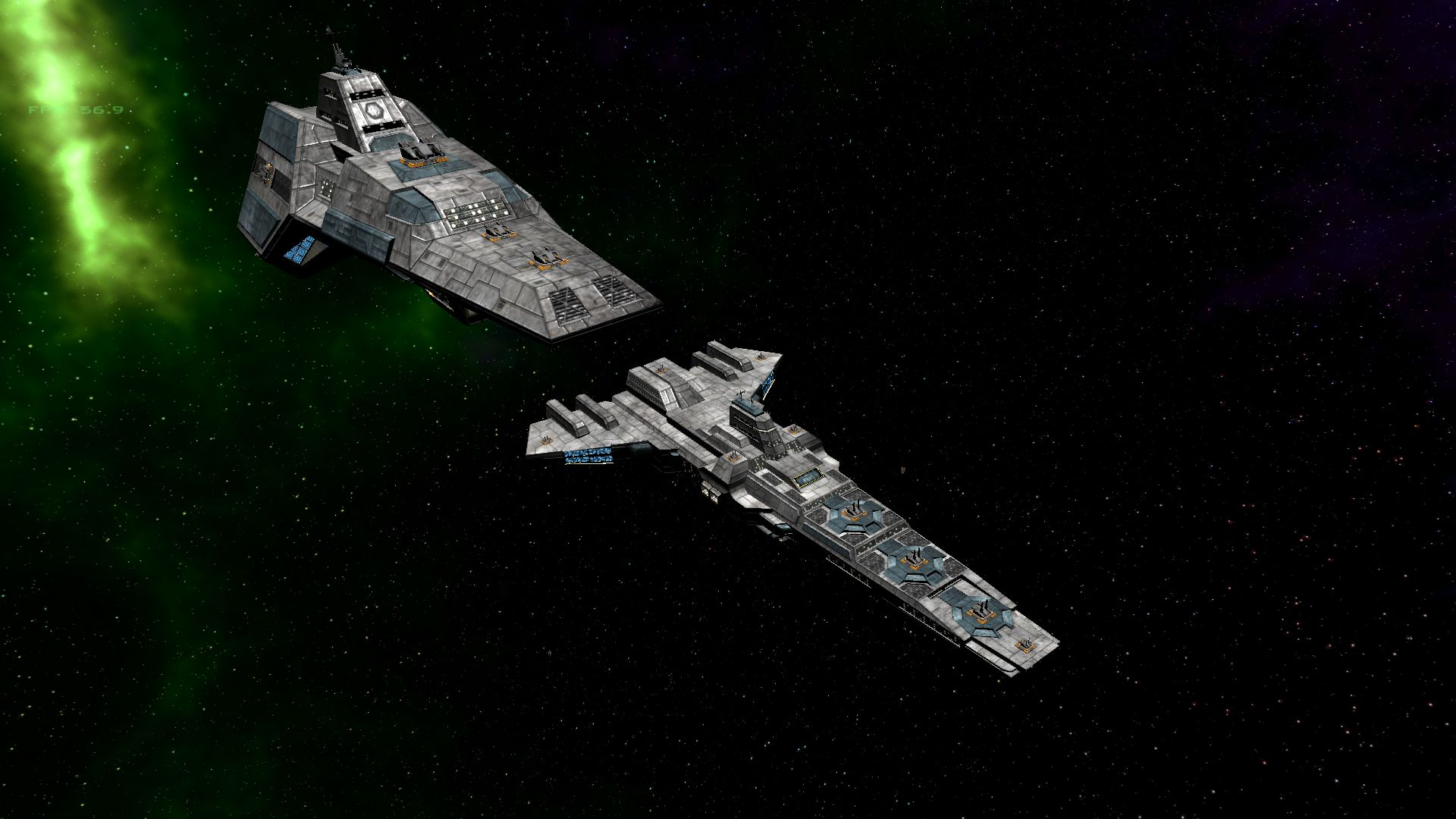 Wc mod adds turret gunner position wing commander cic for Wing commander