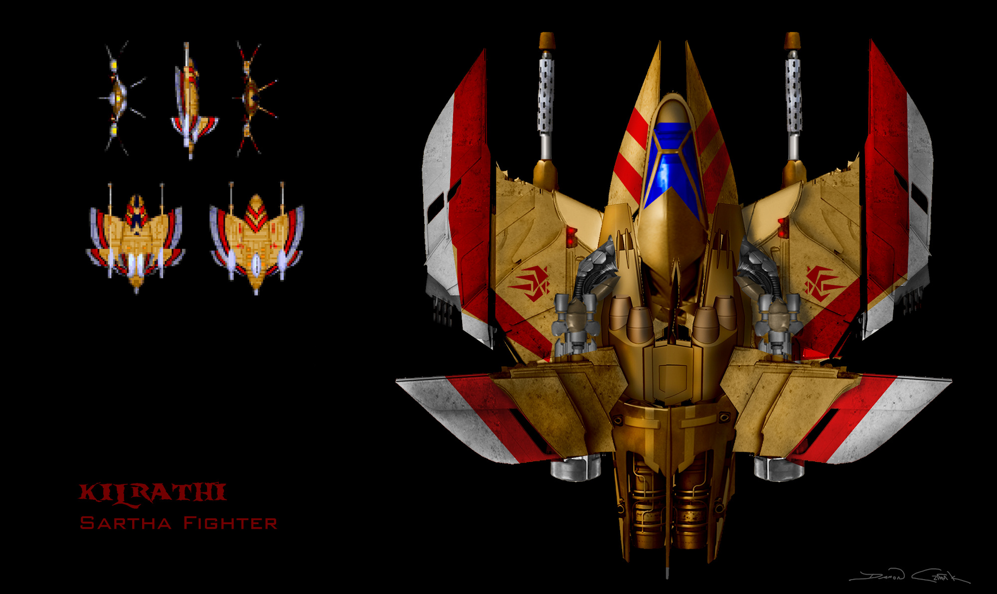 Wing commander reimagined with cutting edge flair wing for Wing commander
