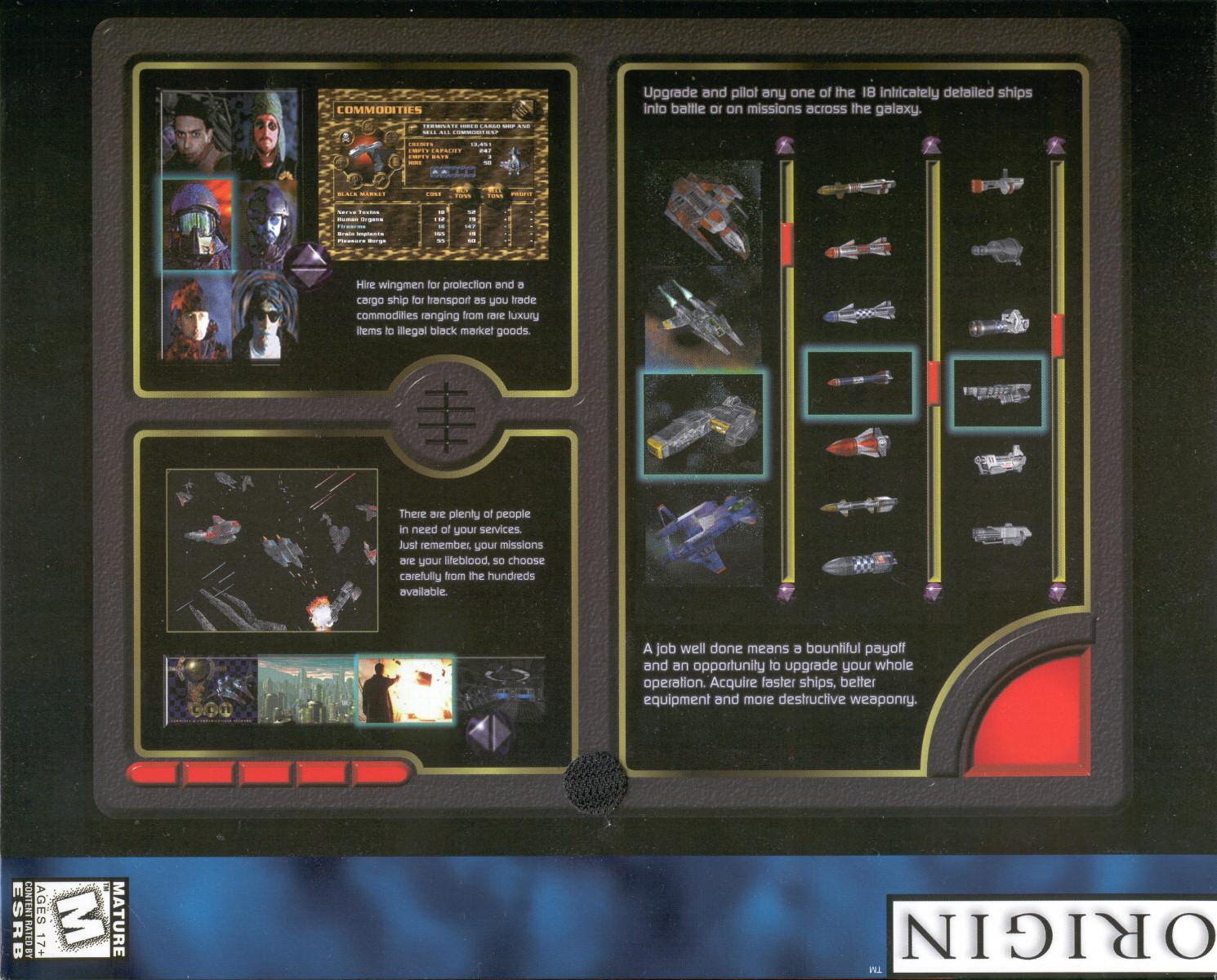 Privateer 2 The Darkening Series Background Wing Commander Cic