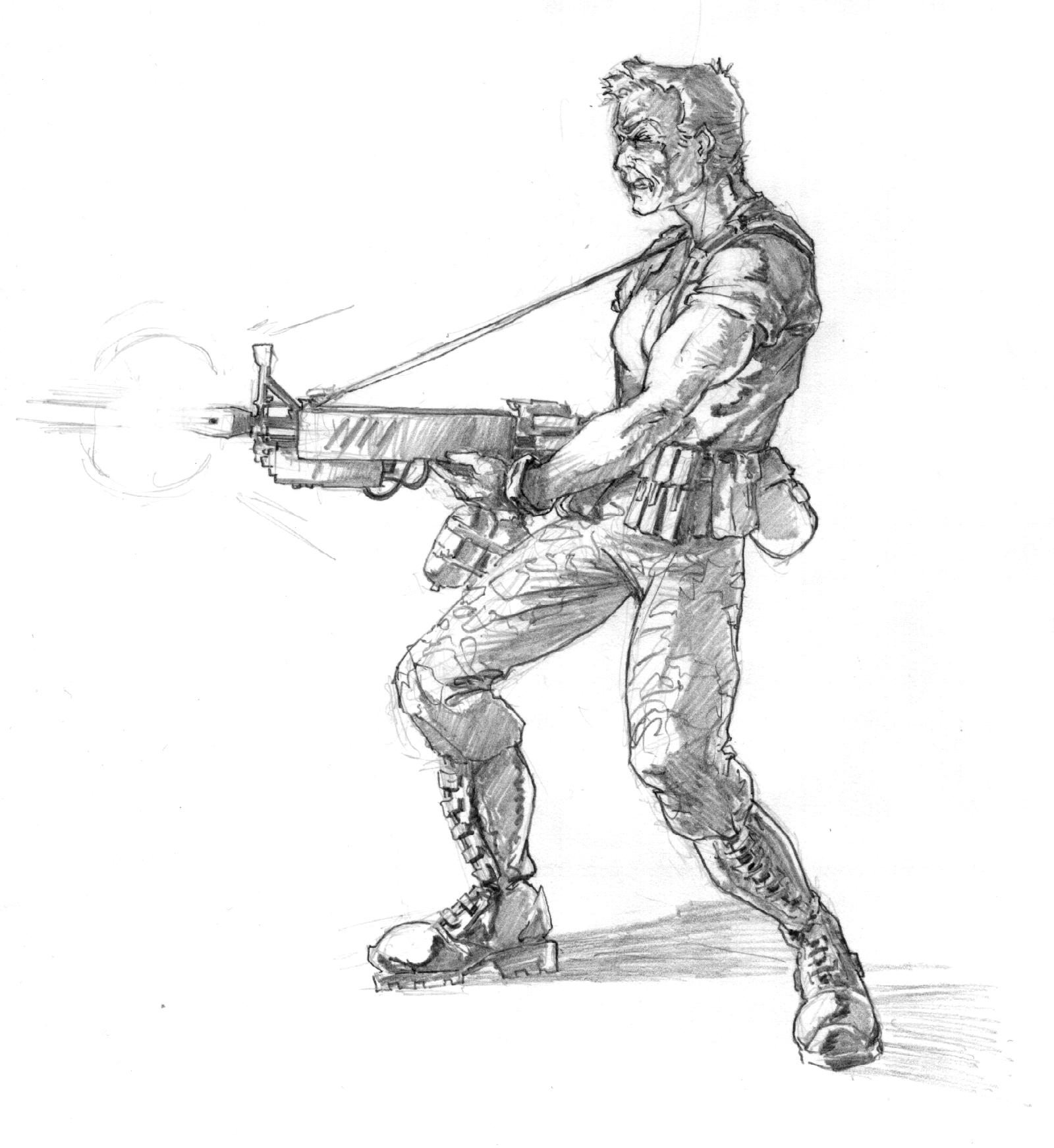 making the games  shadow force sketches