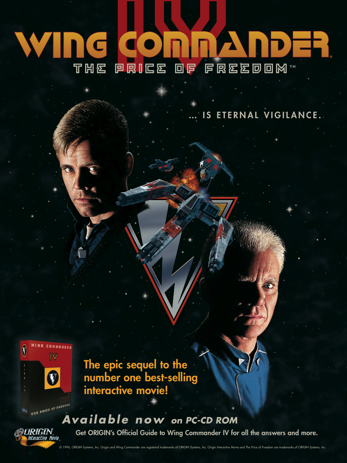 Happy birthday wing commander iv wing commander cic for Wing commander