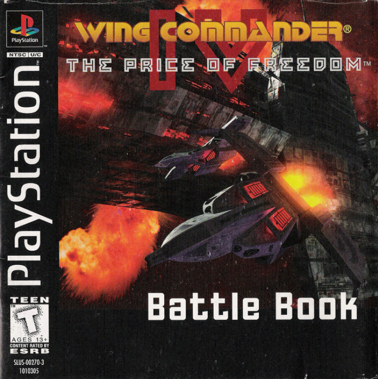 Big New Game Manuals Update Adds Console Docs Wing Commander Cic