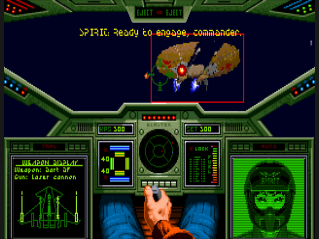 Breaking news wing commander arrives on gametap wing for Wing commander