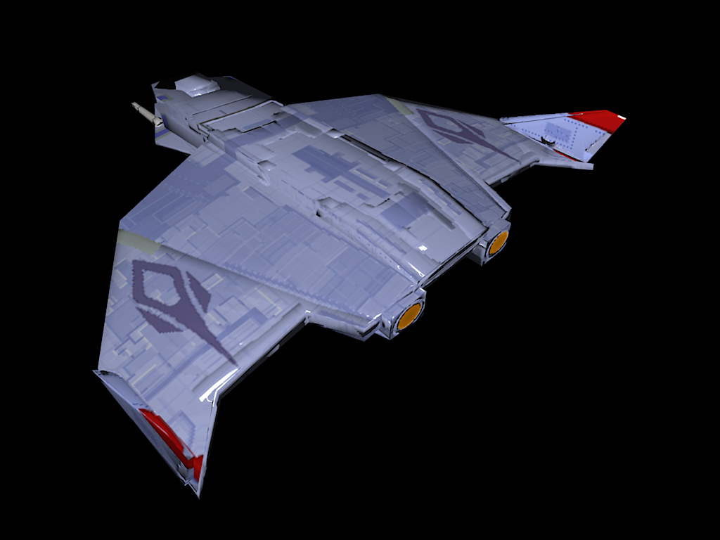Low poly hornet is super wing commander cic.