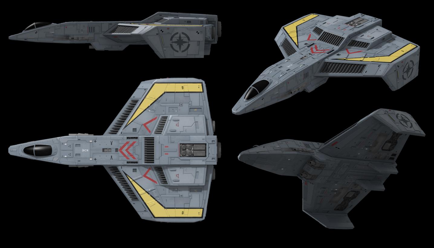 Hellcat in the spotlight wing commander cic for Wing commander