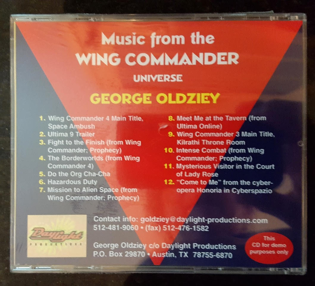 Music from the Wing Commander Universe - Wing Commander CIC