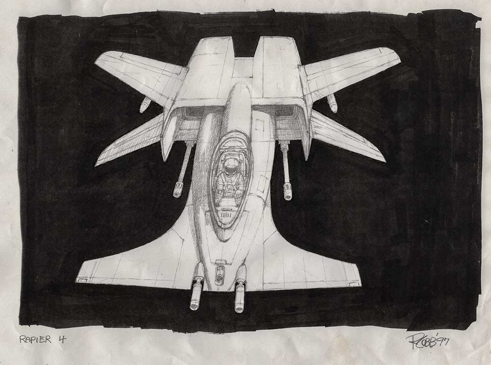 Ron Cobb S Wing Commander Concept Art Found Wing