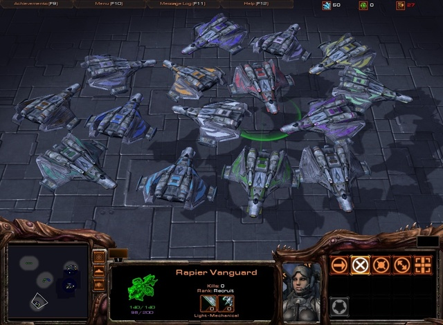 Starcraft 2 Mod Taking Shape - Wing Commander CIC