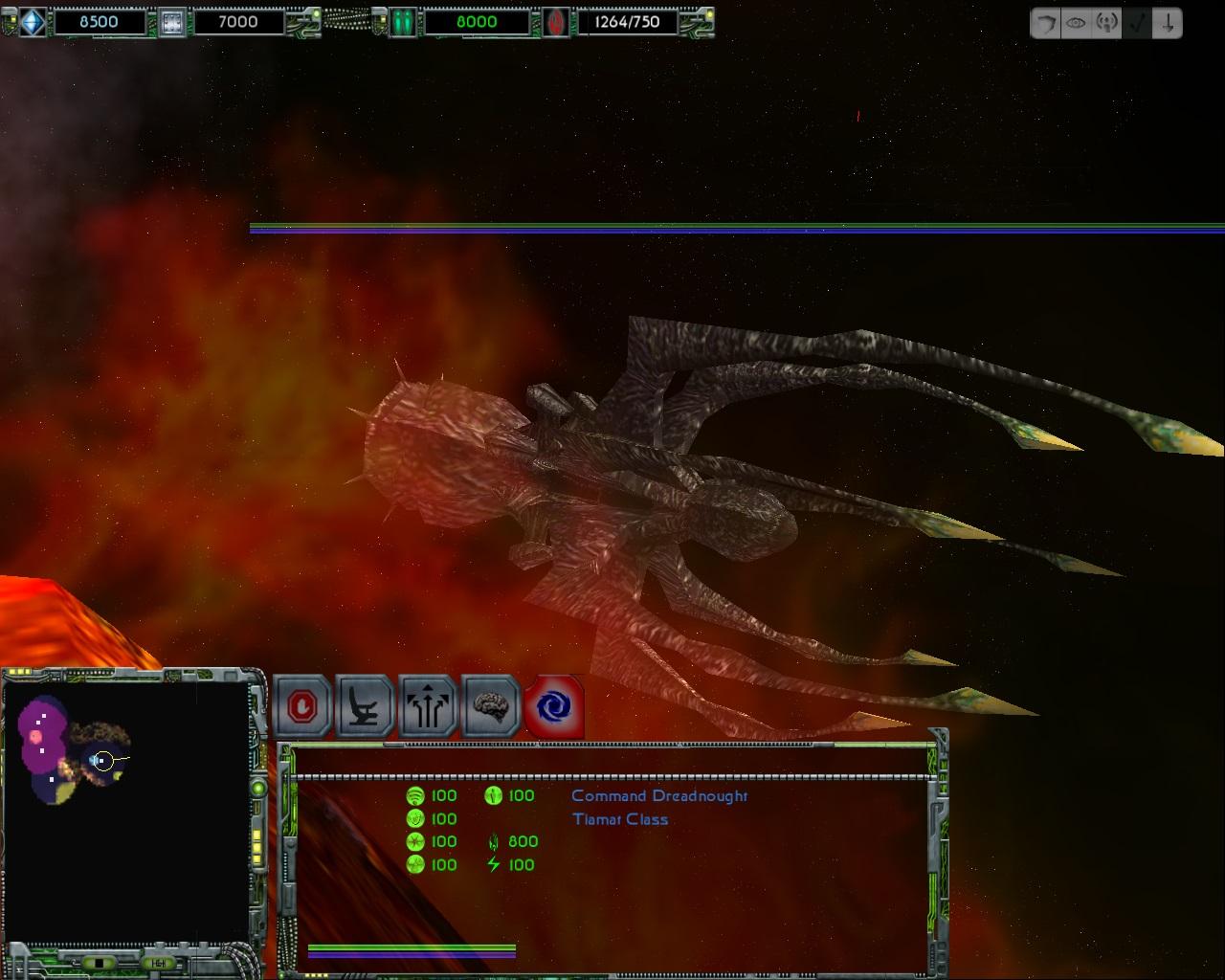 nephilim added to star trek armada 2 mod wing commander cic