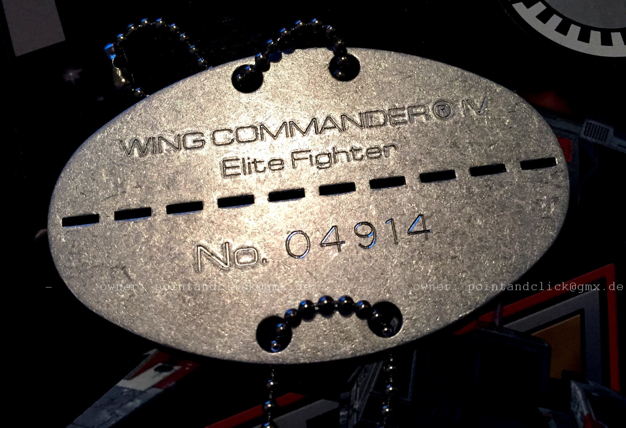 Exclusive Pilot's Medal Packed with Rare German WC4 - Wing Commander CIC