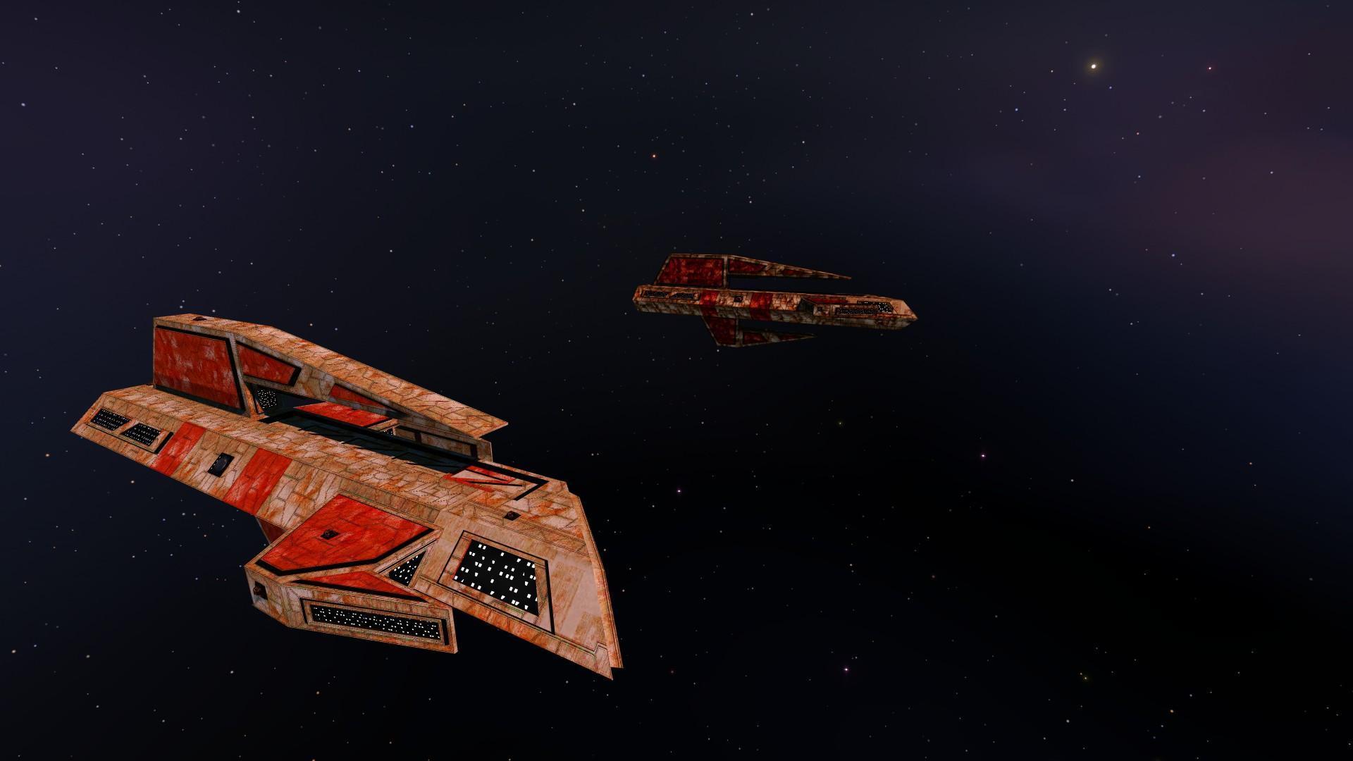 Kilrathi durasteel polished for homeworld mod wing for Wing commander