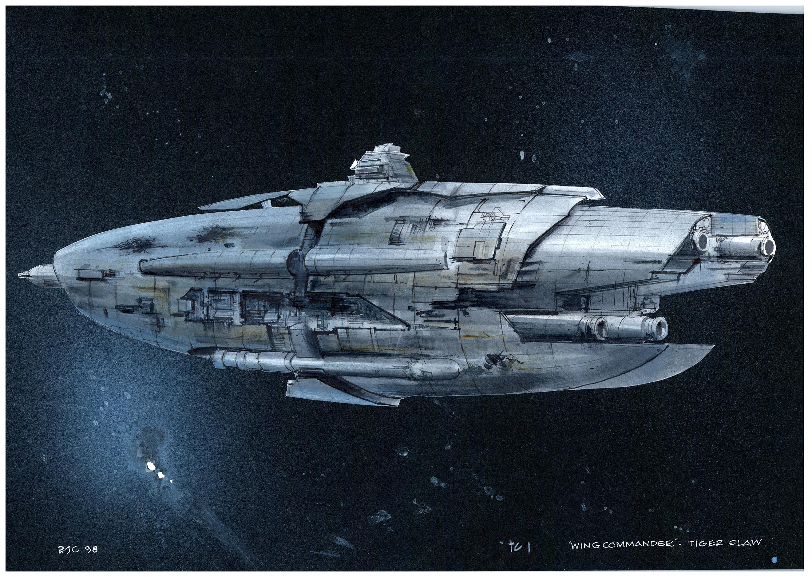Designing The Confederation Fleet Wing Commander Cic