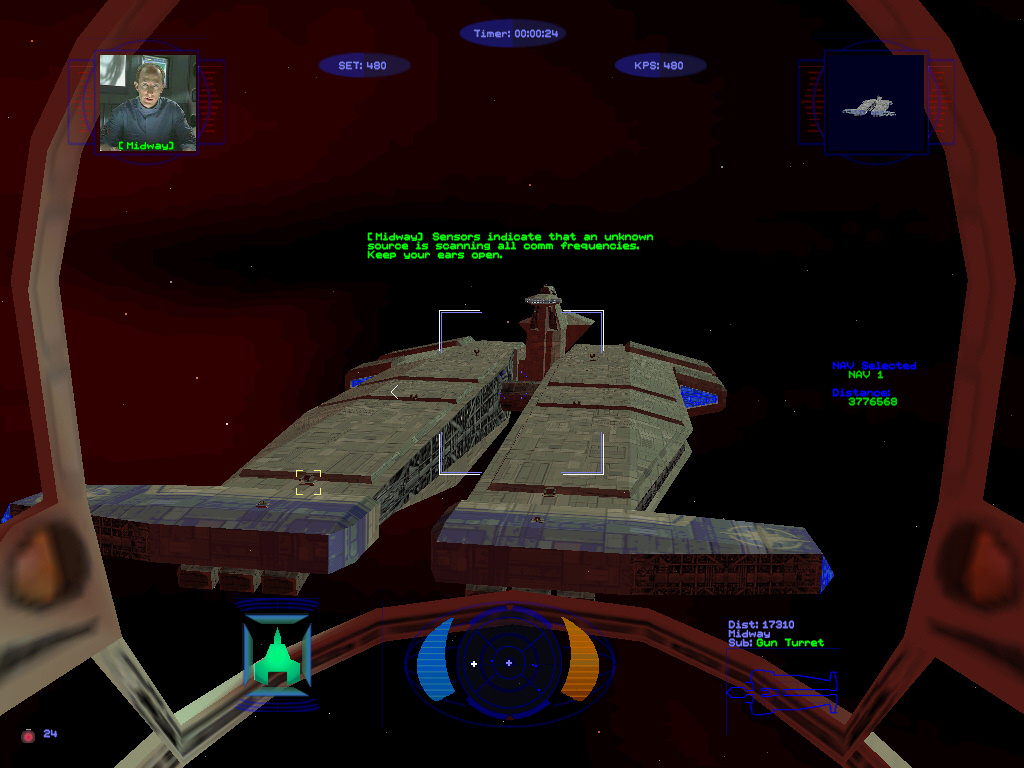 Choose the coolest cockpit wing commander cic for Wing commander prophecy