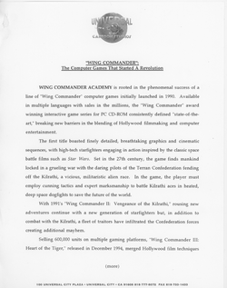 WCA Press Kit-Wing Commander cover.png