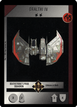 WCTCG Dralthi IV Deathstroke's Pride Squadron.png