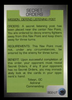 WCTCG Secret Orders Defend Listening Post.png