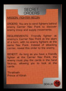 WCTCG Secret Orders Kilrathi Fighter Recon.png
