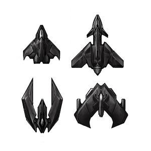 WingCommander Topdown ships.jpg