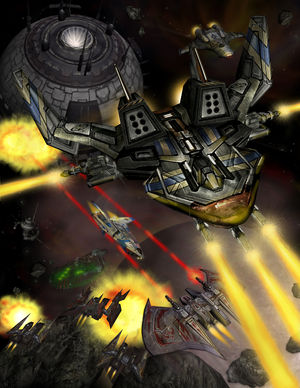 Wing Comander ARENA under attack.jpg